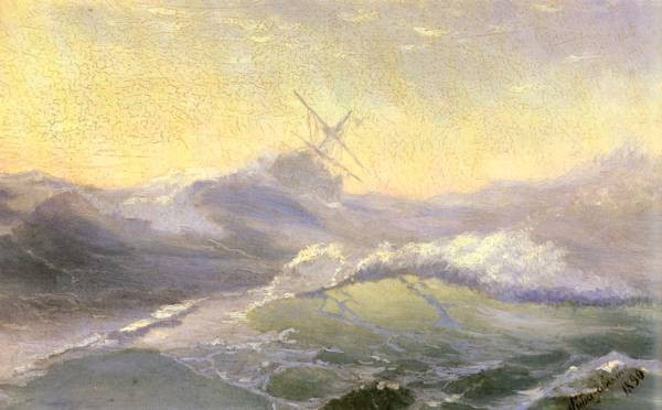 Konstantinovich Bracing The Waves